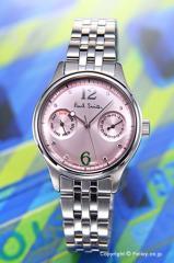 PAUL SMITH ポールスミス 腕時計 レディース シティ クラシック ツー カウンター ミニ ライトピンク BH7-211-91