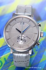 PAUL SMITH ポールスミス 腕時計 メンズ チルターン クロノグラフ ライトグレー BS7-013-90