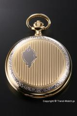 【RAPPORT】 ラポート 懐中時計(ポケットウォッチ)  クォーツ デミハンター(フタつき) PW93