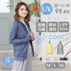 パーカー UVパーカー ラッシュガード パーカー UVカット 水着 送料無料 吸汗速乾 M/L/XL 大きいサイズ otg1704-0115