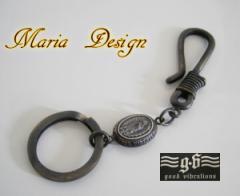 【GV】真鍮製マリアのキーリング/ブラス【メイン】送料無料