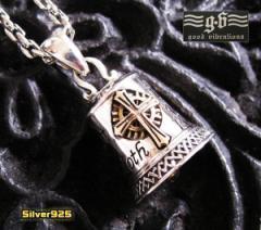【GV】七つの大罪のベルペンダントSV+B/(メイン)鈴・ベルペンダント  ネックレス送料無料