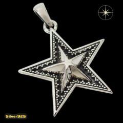スターペンダント(11) メイン 銀 ペンダント 星 ネックレス