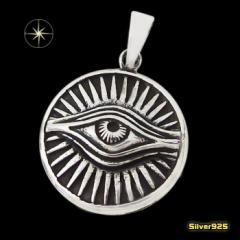 プロビデンスの目のペンダント(5) メイン 銀 ペンダント フリーメイソン 秘密結社 ネックレス
