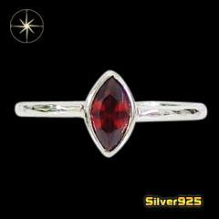 デザインリング(68)RCZ11号12号13号14号15号16号17号18号19号/【メイン】 赤   レディース 指輪 シルバー925銀