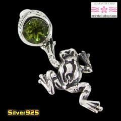 oriental vibrations【OV】カエルのピアス(2)/【メイン】 蛙 和柄   ピアス シルバー925銀 orientalvibrations レディース メンズ