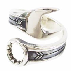 スパナの指輪(1)15号フリーサイズ(メイン) 送料無料 工具    指輪 リング