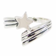 流れ星の指輪(1)07号・09号・11号・13号・15号・17号・19号・21号(メイン) 送料無料 流星 スター 星  指輪 リング