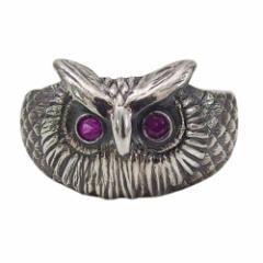 フクロウの指輪(3)RCZ07号・09号・11号・13号・15号(メイン) 送料無料 梟 動物   指輪 リング