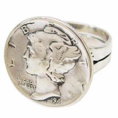 本物のアメリカのコインの指輪(2)11号フリーサイズ(メイン) 送料無料 硬貨    指輪 リング
