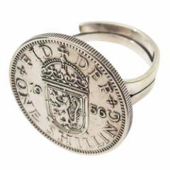 本物のスコットランドの指輪(1)18号フリーサイズ(メイン)  メンズ 送料無料 硬貨    指輪 リング