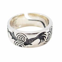 金魚の指輪(1)15号フリーサイズ(メイン) 送料無料 魚 和風   指輪 リング