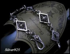 シルバーブレスレット(2) メイン 銀シルバーブレス