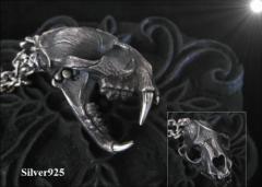 ビッグアニマルスカル(1)  【メイン】ペンダント/ドクロ骸骨動物送料無料