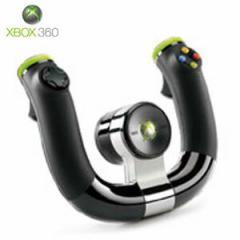【+7月4日発送★新品】Xbox360周辺機器 ワイヤレス スピード ホイール 2ZJ-00001 (マ