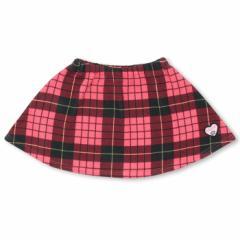 12/28再販 SALE50%OFF アウトレット チェック 起毛 スカート 0820K ベビードール 子供服 ベビー キッズ 男の子 女の子