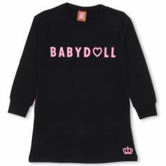 12/28再販 SALE50%OFF アウトレット スウェット ワンピース 0824K ベビードール 子供服 ベビー キッズ 男の子 女の子
