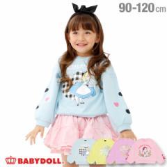 NEW ディズニー 袖バルーン トレーナー 1574K ベビードール 子供服 ベビーサイズ キッズ 男の子 女の子 コスプレ DISNEY