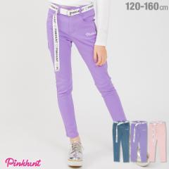 今だけポイント10倍 NEW PINKHUNT ピンクハント ベルト付き ロングパンツ 1868K ベビードール 子供服 キッズ ジュニア 女の子 ガールズ