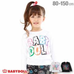 50%OFF SALE_FW 通販限定 カラフル ロゴ ロンT 1883K ベビードール 子供服 ベビーサイズ キッズ 男の子 女の子