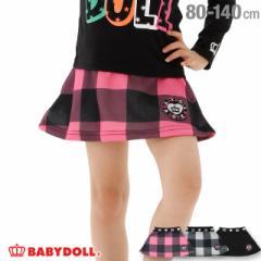 50%OFF SALE_FW ワッペン ロゴ スカート 1886K ベビードール 子供服 ベビーサイズ キッズ 男の子 女の子 通販限定あり