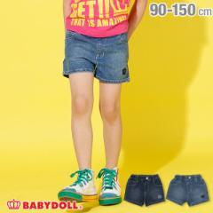 NEW ストレッチ デニム ショートパンツ 2117K ベビードール 子供服 ベビーサイズ キッズ 男の子 女の子