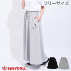 3/15NEW サンリオ マキシ スカート 2131A ベビードール 子供服 大人 レディース
