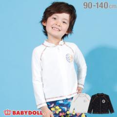 4/17NEW レインボー ラッシュガード 2212K ベビードール BABYDOLL ベビーサイズ キッズ 男の子 女の子