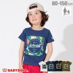 4/1NEW 親子お揃い SURF リゾート Tシャツ 2239K ベビードール BABYDOLL ベビーサイズ キッズ 男の子 女の子