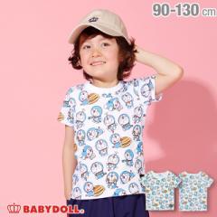 3/1NEW ドラえもん キャラクター 総柄 Tシャツ 2287K ベビードール BABYDOLL ベビーサイズ キッズ 男の子 女の子