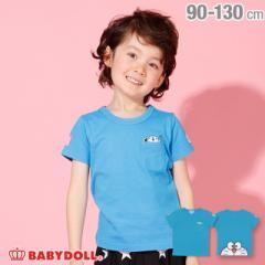 3/1NEW ドラえもん BIGフェイス Tシャツ 2288K ベビードール BABYDOLL ベビーサイズ キッズ 男の子 女の子