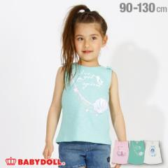 4/19NEW ディズニー チュニック タンクトップ 2480K ベビードール 子供服 ベビーサイズ キッズ 男の子 女の子 DISNEY