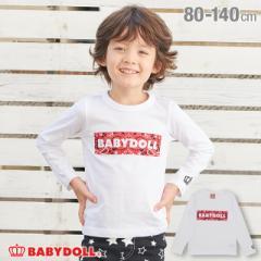 【通販限定】 税抜990円 SALE ボックス ロゴ ロンT 3363K ベビードール BABYDOLL ベビー キッズ 男の子 女の子