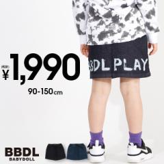 税抜1990円 SALE BBDL(ビー・ビー・ディー・エル) ストレッチデニム スカート 4267K ベビードール BABYDOLL ベビーサイズ キッズ 男の子