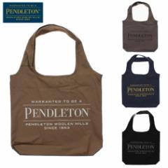 ペンドルトン PENDLETON バッグ ロゴ ショッパー LOGO SHOPPER PDT-000-211103 ベージュ グレー ネイビー ブラック
