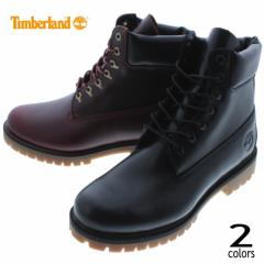 ティンバーランド Timberland ブーツ ヘリテージ 6インチ ウォータープルーフ ブーツ ブラックフルグレイン(TB0A22WK) MDブラウンフルグ