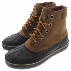 定番 ソレル SOREL ブーツ シャイアン メトロ レース ウォータープルーフ CHEYANNE METRO LACE WP エルク/ブラック ELK/BLACK NM3457 286
