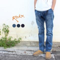 ロックス ROKX ウェア デニム ファティーグ パンツ DENIM FATIGUE PANT RXMS191008 MID USED(ミッドユーズド) DARK USED(ダークユーズド)