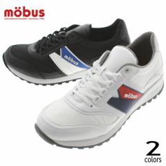 モーブス mobus スニーカー クリスト CHRISTO M-1918PN ホワイト(1111) ブラック(2020)