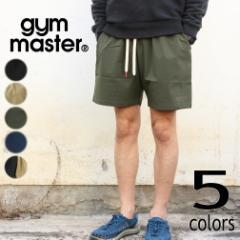ジムマスター gym master ウェア コンフィー ナイロン ショートパンツ G221611 ブラック(06) ベージュ(30) オリーブ(47) ネイビー(58) マ