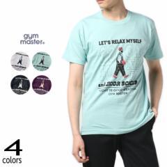 ジムマスター gym master Tシャツ リラックス マイセルフ ティー RELAX MYSELF TEE G280672 01(ホワイト) 41(ミント) 59(ネイビー) 63(パ