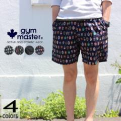 ジムマスター gym master ウェア ハッピーペイントショーツ G433616 ALWAYS SMILE(A) ベニスビーチ(B) カリフォルニア(C) NEW覆面レスラ