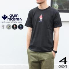 ジムマスター gym master Tシャツ スペシャルテクニック刺繍TEE G433682 01(ホワイト) 02(グレー) 05(ブラック) 59(ネイビー)