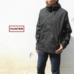 ハンター HUNTER レインジャケット メンズ オリジナル ライトウェイト ラバーライズド ボンバージャケット ブラック MRO4190WAP-BLK