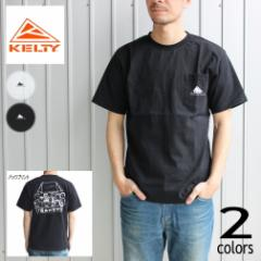 ケルティ KELTY ウェア ピーナッツ ポケット ファミリー Tシャツ PEANUTS POCKET FAMILY T-SHIRT ホワイト ブラック KE-211-13032