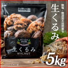 無添加 生くるみ5kg(500g×10) 送料無料 クルミ アーモンド ナッツ 胡桃 ダイエット お菓子 オメガ脂肪酸