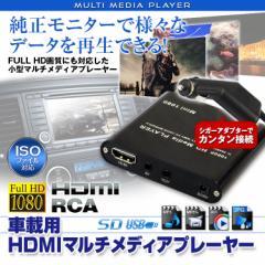マルチメディアプレーヤー 車載用 動画再生プレーヤー SDプレーヤー USBプレーヤー