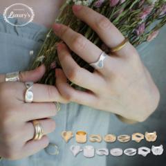 【Max半額クーポン対象品!】リング 指輪 アンティーク調 マット シンプル 個性的 ゴールド シルバー  j3s 母の日 ギフト プレゼント