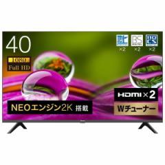 Hisense 40A30G [40V型 地上・BS・CSデジタル フルハイビジョン 液晶テレビ]