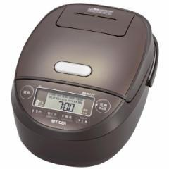 炊飯器 タイガー 5.5合 圧力IH JPK-B100 ブラウン 少量 高速 冷凍 簡単 白米 もち麦 押麦 雑穀 玄米 煮物 おいしい TIGER【あす着】